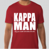 Kappa Man T-Shirt • Crimson & Cream TShirt • Kappas Shirt • As If You Couldn't Tell • Divine Nine Paraphernalia • HBCU Greek Organization
