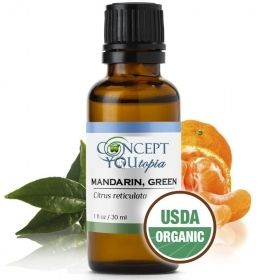 Organic Green Mandarin Essential Oil