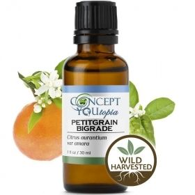 Petitgrain Bigarade (Orange Leaf) Essential Oil