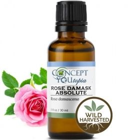 Rose Damask Absolute Essential Oil