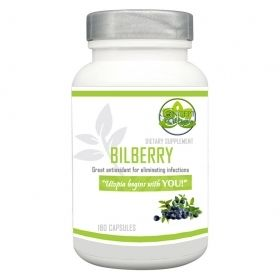 Bilberry Extract Herb Supplement 1000mg
