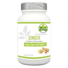 Ginger Root Herb Supplement 550mg