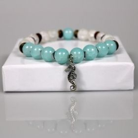 Turquoise Sea Horse Beach Resort Bracelet