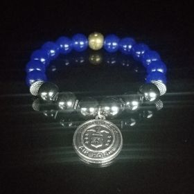U.S. Air Force Pendant Beaded Bracelets