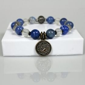 Zodiac & Horoscope Birthstone Beaded Bracelet