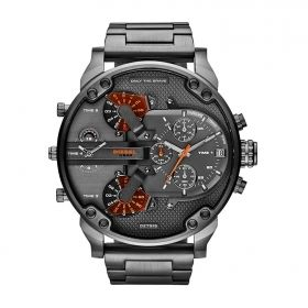 Men's Diesel Analog Display Quartz Grey Watch