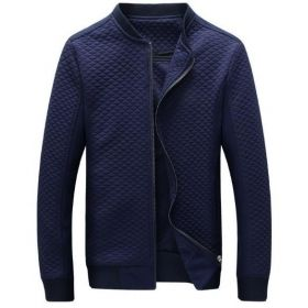 MEN'S BLUE OR BLACK DESIGNER FASHION JACKET