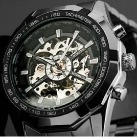 The Sword Men's Stainless Steel Watch