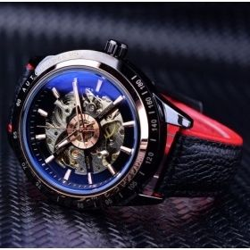 The Men's Racer Skeleton Watch