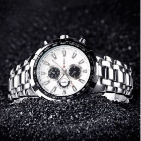 Men's Monochrome Quartz Watch