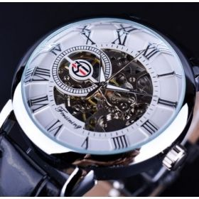Men's Classic Aviator Skeleton Watch