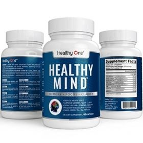 Healthy Mind Capsules to Improve Memory by Healthy One