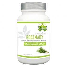 Rosemary Extract Supplement Capsules