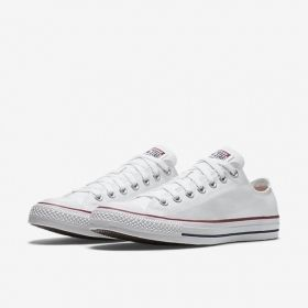 Women's White Converse Chuck Taylor All-Star Low Tops