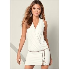 Women's Short Banded Bottom Dress