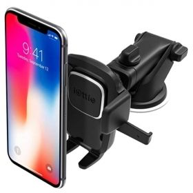 Easy One Touch 4 Dashboard & Windshield Car Phone Mount Holder for iPhones & Samsungs
