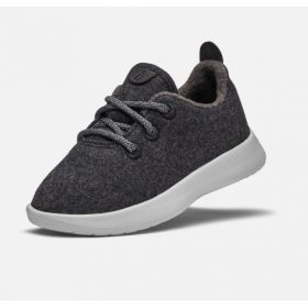 Charcoal & White Smallbirds Wool Runners