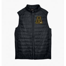 Alpha Phi Alpha Embroidered Packable Puffer Vest