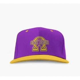 Omega Psi Phi Embroidered OWT Bruh Snap Back Hat