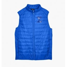 Phi Beta Sigma Embroidered Packable Puffer Vest