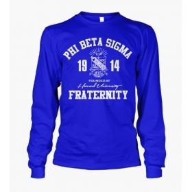 Phi Beta Sigma Roots Long Sleeve T-Shirt