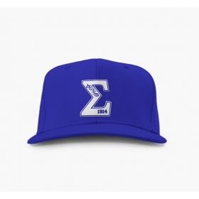 Phi Beta Sigma Embroidered Varsity Snap Back Hat