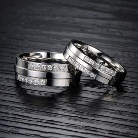 Titanium Stainless Steel Wedding Bands
