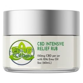CBD 150mg Intensive Relief Rub with Emu Oil