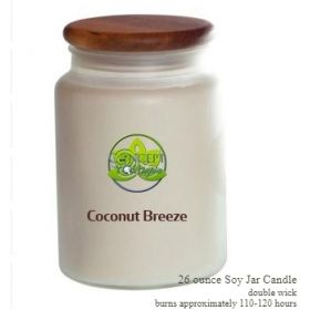 Coconut Breeze Soy Candle