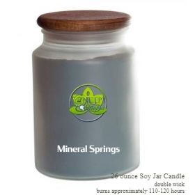 Mineral Springs Soy Candle