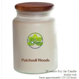 Patchouli Woods Soy Candle