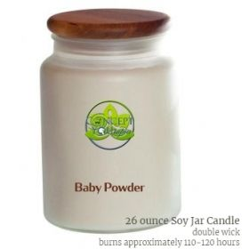 Baby Powder Soy Candle