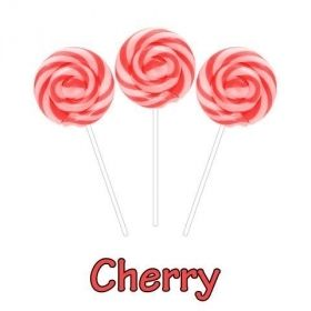 Cherry CBD Swirl Pops 50MG CBD Per Pop