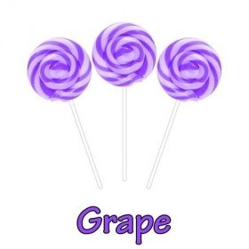 Grape CBD Swirl Pops 50MG CBD Per Pop