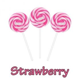 Stawberry CBD Swirl Pops 50MG CBD Per Pop