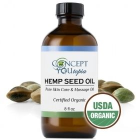 Pure Organic Hemp Seed Oil